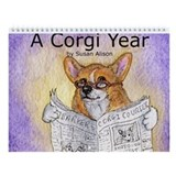 A Corgi Year - Wall Calendar - Uncaptioned