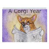 Corgi calendar Wall Calendars