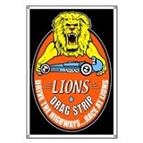 Lions Drag Strip Banner