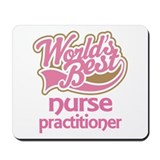 Worlds Best Nurse Practicioner Mousepad