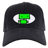 lil green robot Baseball Hat