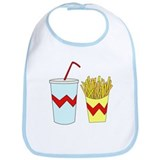 Cute Fries Bib