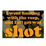 All I got was shot Postcards (Package of 8)