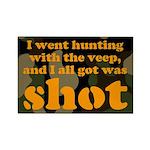All I got was shot Rectangle Magnet (100 pack)