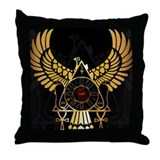 Power of Egypt Throw Pillow