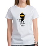 Ninja Chick Women's T-Shirt