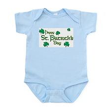 Happy St. Patrick's Day  Infant Creeper