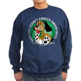 Kidney Cancer Dog Sweatshirt