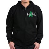 Kidney Cancer Hope Zipped Hoodie