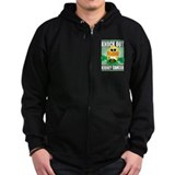 Knock Out Kidney Cancer Zipped Hoodie