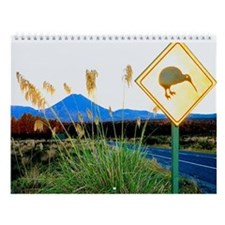 National Park New Zealand Wall Calendar