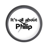 It's all about Philip Wall Clock