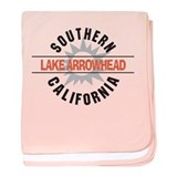 Lake Arrowhead California Infant Blanket