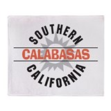 Calabasas California Throw Blanket