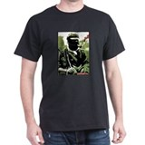 Rebel Portrait Black T-Shirt