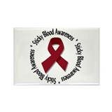 Sticky Blood Awareness Rectangle Magnet