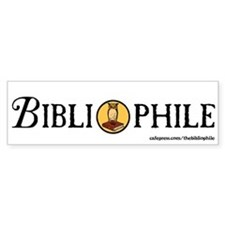 Bibliophile Seal Bumper Sticker