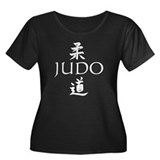 Judo Women's Plus Size Scoop Neck Dark T-Shirt