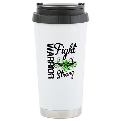 WarriorNonHodgkinsLymphoma Ceramic Travel Mug