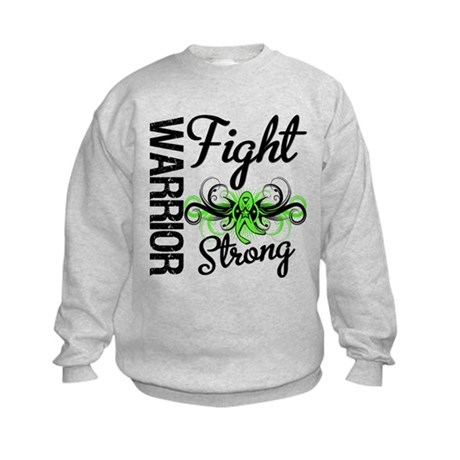 WarriorNonHodgkinsLymphoma Kids Sweatshirt