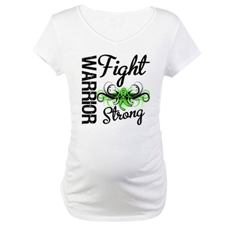 WarriorNonHodgkinsLymphoma Maternity T-Shirt