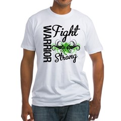 WarriorNonHodgkinsLymphoma Fitted T-Shirt