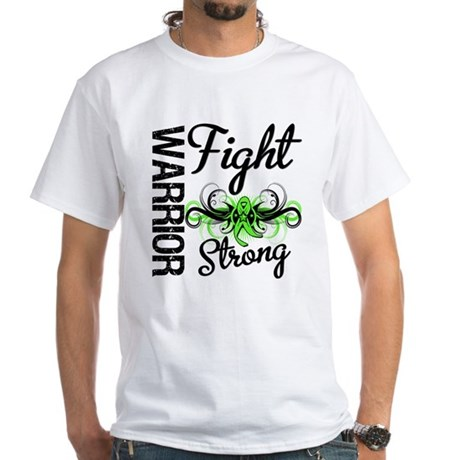 WarriorNonHodgkinsLymphoma White T-Shirt