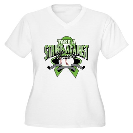 Take a Strike NonHodgkins Women's Plus Size V-Neck