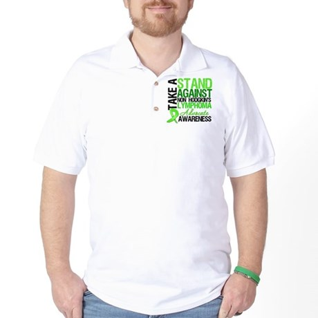 Take a Stand Non-Hodgkins Golf Shirt