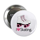 I Love Skating 2.25&quot; Button
