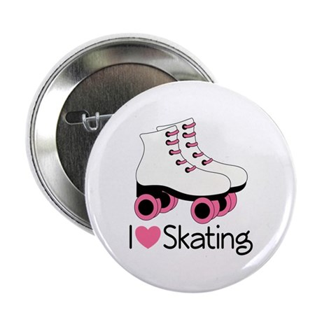 I Love Skating 2.25&amp;quot; Button