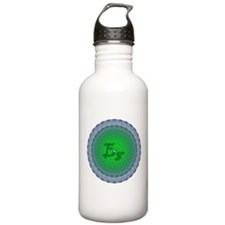E8 Lie Green Sports Water Bottle