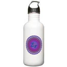 E8 Lie Blue Sports Water Bottle