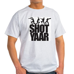 Shot Yaar Ash Grey T-Shirt