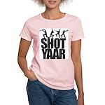 Shot Yaar Women's Pink T-Shirt