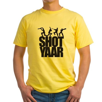 Shot Yaar Yellow T-Shirt