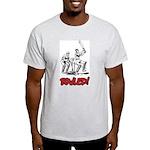 Bowled! Ash Grey T-Shirt
