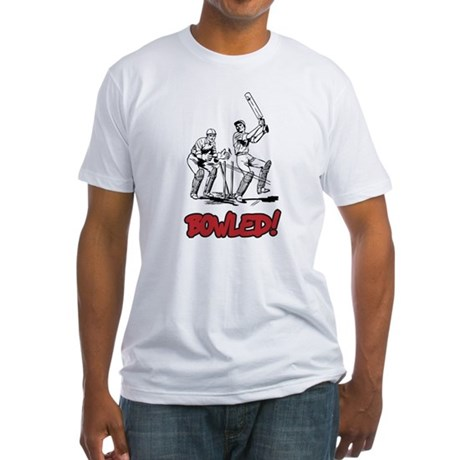 Bowled! Fitted T-Shirt