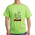 Bowled! Green T-Shirt