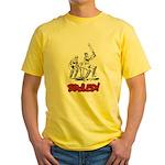 Bowled! Yellow T-Shirt