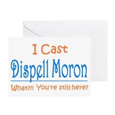 Dispell Moron Greeting Cards (Pk of 10)