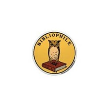 Bibliophile Seal w/ Text Mini Button
