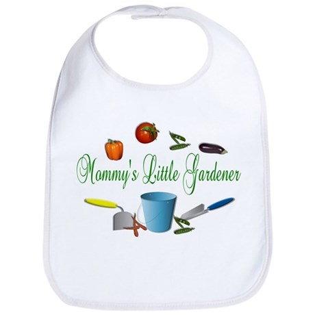 Mommy's Little Gardener Baby Bib