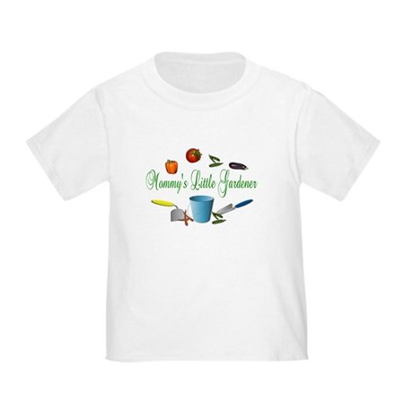Mommy's Little Gardener Toddler T-Shirt