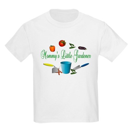 Mommy's Little Gardener Kids T-Shirt