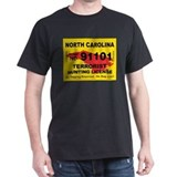 North Carolina Terrorist Hunt T-Shirt