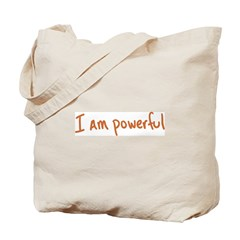 I Am Powerful Tote Bag