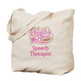 Speech Therapist Tote Bag