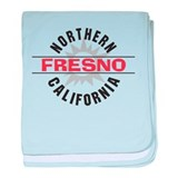 Fresno California Infant Blanket