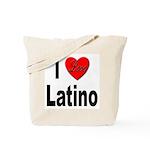 I Love Latino Tote Bag